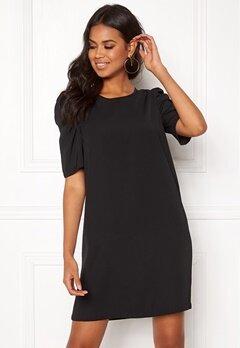 Jacqueline de Yong Ingrid 2/4 Short Dress Black Bubbleroom.fi
