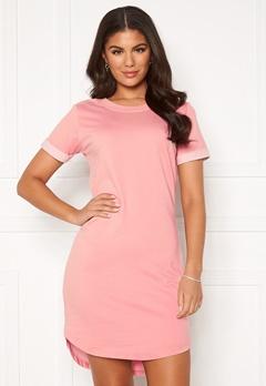 Jacqueline de Yong Ivy Life S/S Dress Mellow Rose Bubbleroom.fi
