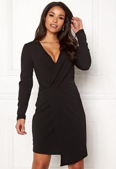 Jacqueline de Yong Lauren L/S Dress Black Bubbleroom.fi