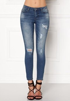Jacqueline de Yong Skinny Low Magic Jeans Light Blue Denim Bubbleroom.fi