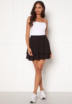 Jacqueline de Yong Tricky Layer Mini Skirt Black Bubbleroom.fi