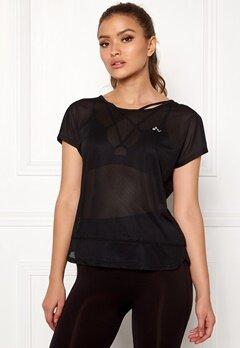 ONLY PLAY Jasmin Training Loose Tee Black Bubbleroom.fi
