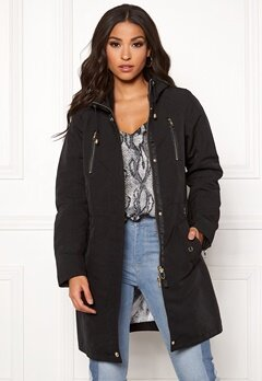 JOFAMA Amanda 2 Jacket 00 Black Bubbleroom.fi
