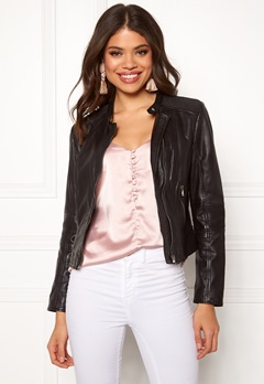 JOFAMA Stina Jacket 00 Black Bubbleroom.fi