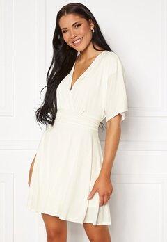 John Zack Kimono Sleeve Dress White Bubbleroom.fi