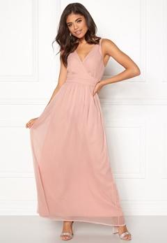 VERO MODA Josephine SL Maxi Dress Misty Rose Bubbleroom.fi