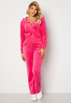 Juicy Couture Cotton Rich Del Ray Pant Raspberry Rose Bubbleroom.fi