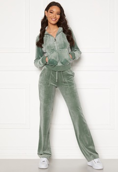 Juicy Couture Del Ray Classic Velour Pant Chinios Green Bubbleroom.fi
