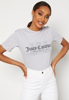 Juicy Couture Dog T-Shirt SIlver Marl Bubbleroom.fi