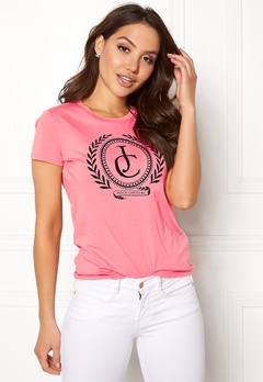 Juicy Couture JC Laurel Tee Sorbet Pink Bubbleroom.fi