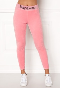 Juicy Couture Juicy Jacquard Legging Sorbet Pink Bubbleroom.fi