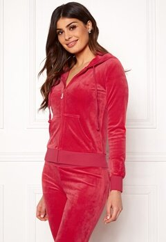 Juicy Couture Luxe Velour Robertson Jkt Cherry Top Bubbleroom.fi