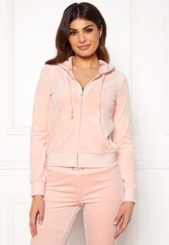 Juicy Couture Luxe Velour Robertson Jkt Pink Shadow Bubbleroom.fi