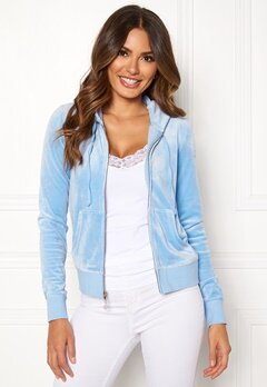 Juicy Couture Luxe Velour Robertson Jkt Varsity Blue Bubbleroom.fi