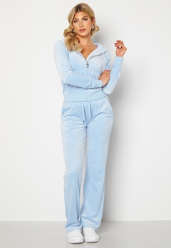Juicy Couture Numeral Del Ray Pants Powder Blue Bubbleroom.fi