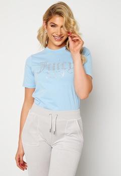 Juicy Couture Numeral T-Shirt Powder Blue Bubbleroom.fi