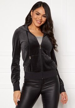 Juicy Couture Traditional Logo Jacket Pitch Black Bubbleroom.fi