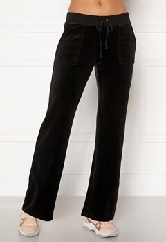 Juicy Couture Velour On Going Pant Pitch Black Bubbleroom.fi