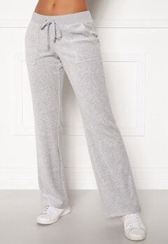 Juicy Couture Velour On Going Pant Silver Lining Bubbleroom.fi