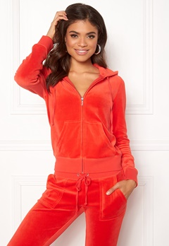 Juicy Couture Velour Robertson Jacket City Rouge Bubbleroom.fi