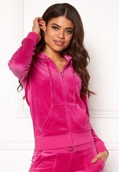Juicy Couture Velour Robertson Jacket Raspberry Pink Bubbleroom.fi