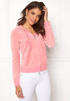 Juicy Couture Velour Robertson Jacket Sorbet Pink Bubbleroom.fi