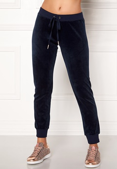 Juicy Couture Velour Zuma Pant Royal Navy Bubbleroom.fi