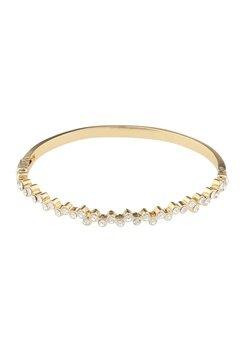 SNÖ of Sweden Kairo Small Oval Bracelet Gold/Clear Bubbleroom.fi