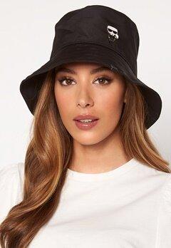 Karl Lagerfeld Ikonik Bucket Hat A999 Black Bubbleroom.fi