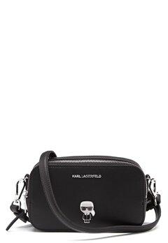 Karl Lagerfeld Metal Pin Camera Bag 999 Black Bubbleroom.fi