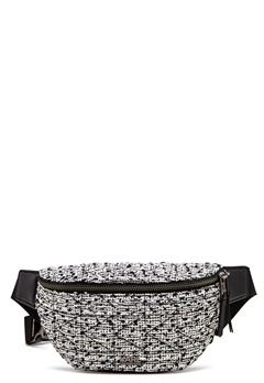 Karl Lagerfeld Quilted Tweed Bumbag Black/White Bubbleroom.fi