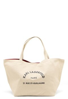 Karl Lagerfeld Rue St Guillaume Canvas 106 Natural Bubbleroom.fi
