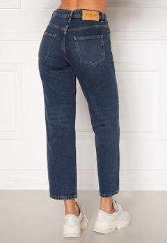 SELECTED FEMME Kate HW Stright Inky Jeans Medium Blue Denim Bubbleroom.fi