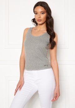 KENDALL + KYLIE K&K Basic Sleeveless Top Grey Bubbleroom.fi
