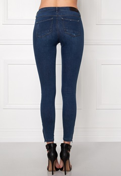 ONLY Kendell Ankle Jeans Dark Blue Denim Bubbleroom.fi