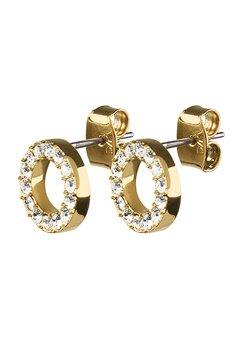 Dyrberg/Kern Koro Crystal Earrings Gold Bubbleroom.fi