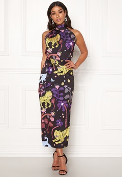 LARS WALLIN Halterneck Dress Multi AOP Bubbleroom.fi