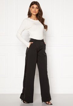 LARS WALLIN Wide Pants Black Black Bubbleroom.fi