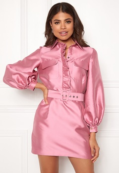 LARS WALLIN Workwear Dress Pink Bubbleroom.fi
