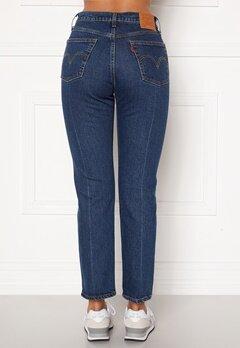 LEVI'S 501 Crop Jeans 0126 Charleston Pres Bubbleroom.fi