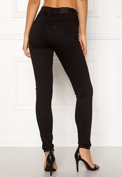 LEVI'S 720 Hirise Super Skinny Jeans 0000 Black Galaxy bubbleroom.fi