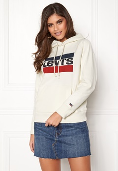 LEVI'S Graphic Sport Hoodie Grey Bubbleroom.fi