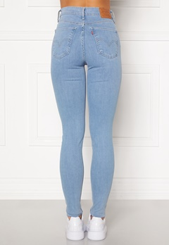 LEVI'S Mile High Super Skinny Jeans 0181 Galaxy Hazy Day Bubbleroom.fi