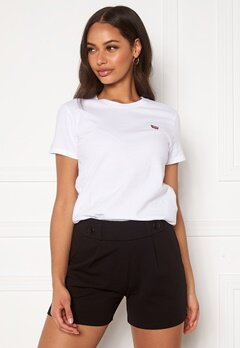 LEVI'S Perfect Tee White Bubbleroom.fi