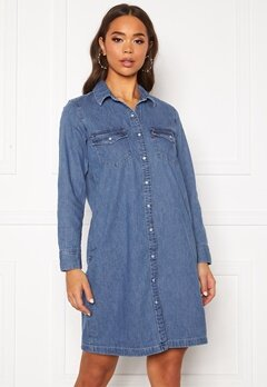 LEVI'S Selma Dress Going Steady Med Indigo- Worn in Bubbleroom.fi