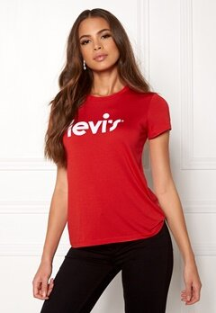 LEVI'S The Perfect Tee 0354 Chinese Red Bubbleroom.fi