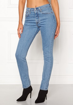 LEVI'S 501 Skinny Jeans 0077 Small Blessings Bubbleroom.fi