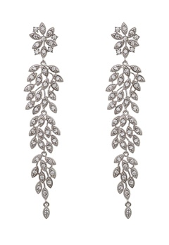 LILY AND ROSE Laurel Earrings Crystal Bubbleroom.fi
