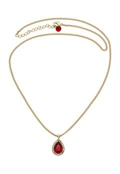 LILY AND ROSE Miss Amy Necklace Scarlet Bubbleroom.fi