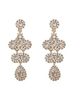 LILY AND ROSE Miss Kate Earrings Champagne Bubbleroom.fi